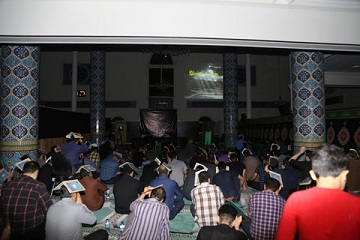 برگزاری مراسم احیا شب بیست وسوم ماه مبارک رمضان مسجد امام علی(ع) دانشگاه علوم پزشکی بابل