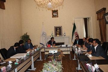 نشست مشترک مدیران بانک قرض الحسنه رسالت با دکتر جلالی رئیس دانشگاه علوم پزشکی بابل