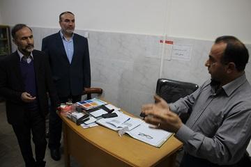 بازدید دکتر سید مظفر ربیعی رئیس دانشگاه علوم پزشکی بابل از مرکز سلامت جامعه شهری رضیا کلا بابل