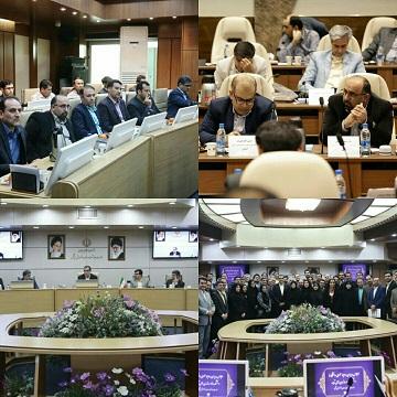 نشست مدیران روابط عمومی دانشگاه های علوم پزشکی کشور با دکتر هاشمی وزیر بهداشت درمان و آموزش پزشکی