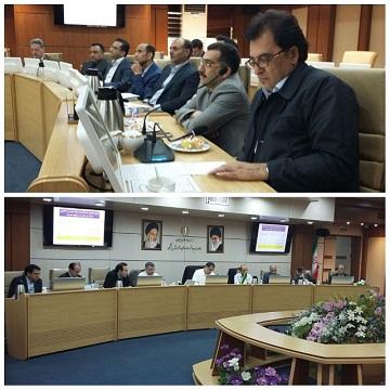 جلسه بررسی راهکارهای کنترل هزینه ها و صرفه جویی دانشگاهها، در وزارت بهداشت درمان و آموزش پزشکی