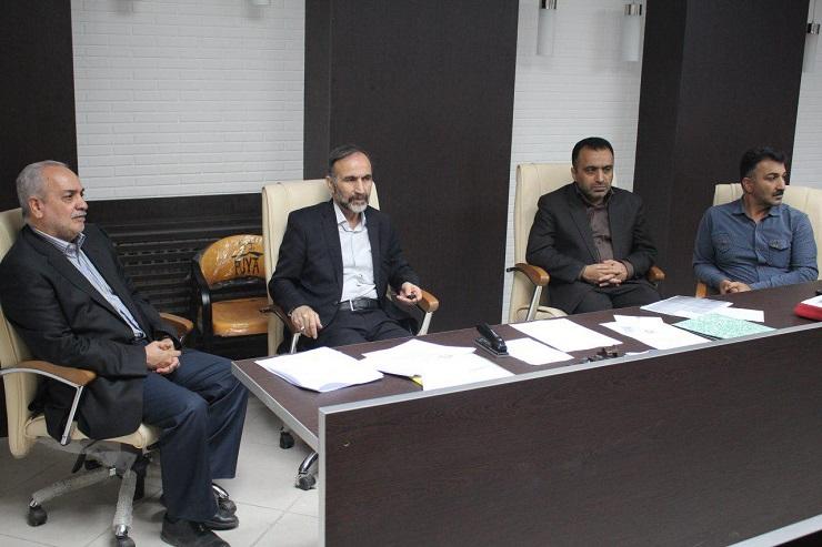 بازدید دکتر ربیعی ریاست دانشگاه علوم پزشکی از سازمان نظام پزشکی شهرستان بابل