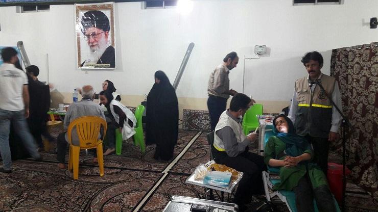 برگزاری طرح سی شب سی مسجد شهرستان بابل در مسجد بی بی سر روضه بابلسر